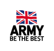 British Army's logo takes you to their list of jobs