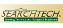 SearchTech's logo takes you to their list of jobs