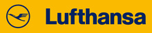 Lufthansa's logo takes you to their list of jobs