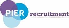 Pier Recruitment's logo takes you to their list of jobs