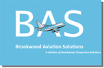 Brookwood Aviation Solutions's logo takes you to their list of jobs