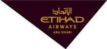 Etihad Airways's logo takes you to their list of jobs