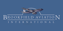 Brookfield Aviation's logo takes you to their list of jobs